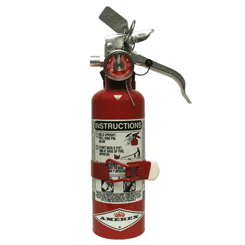 ABC & BC Rated Portable Halotron Fire Extinguishers