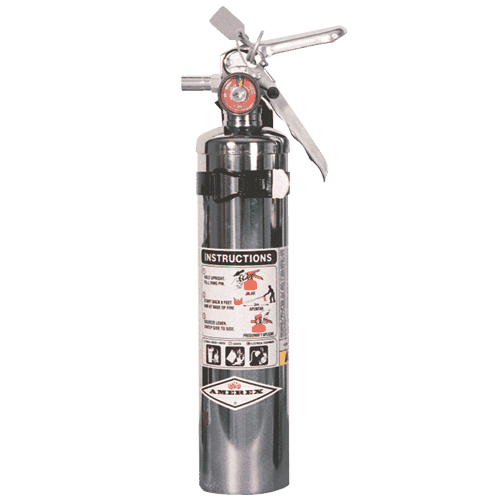 ABC Chrome Fire Extinguisher