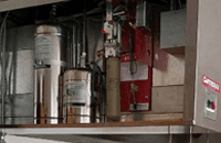 Restaurant hood suppression systems