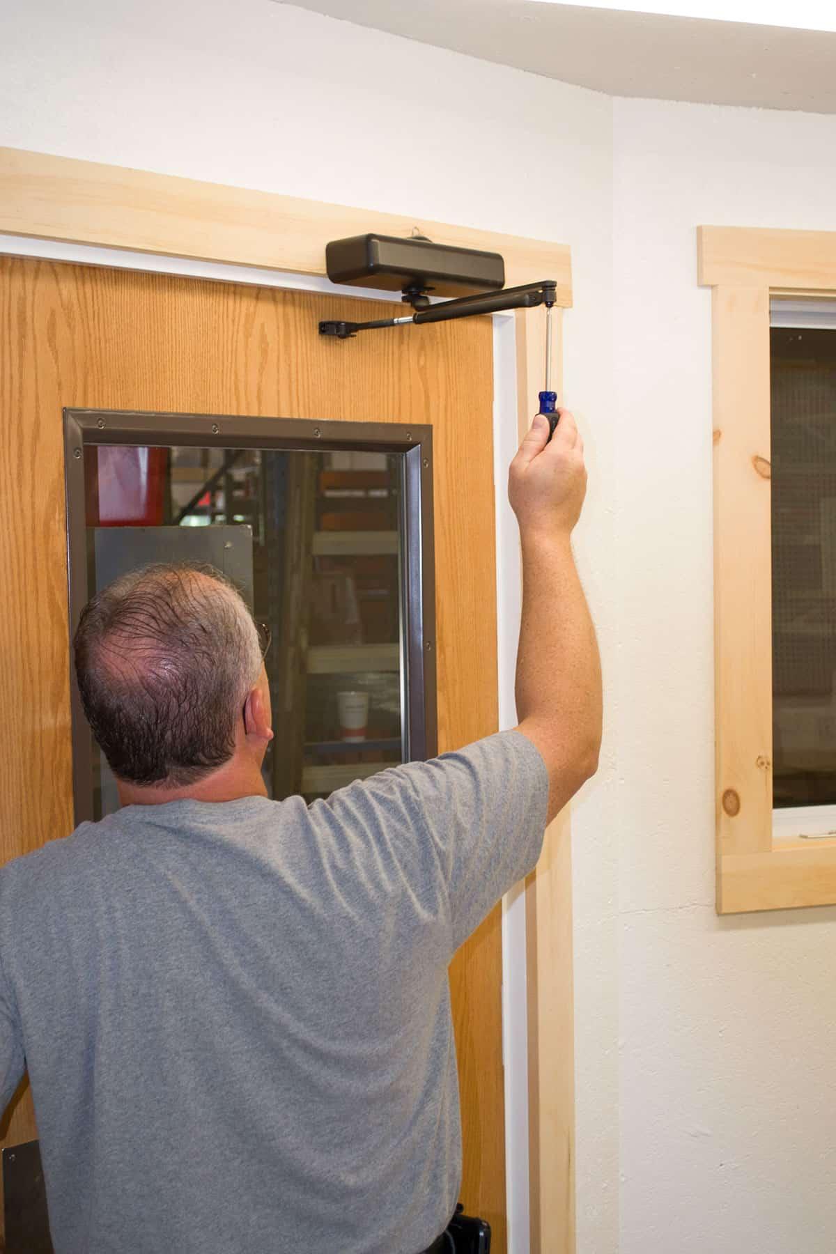 preventative maintenance on commercial locks