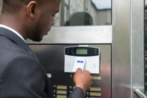 keycard access control system